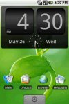 FlipClock BlackOut Widget -