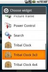 Tribal Clock Widget Pack - скачать