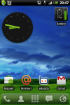 Battery Watcher Widget - вид