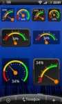 Gauge Battery Widget - Ориги