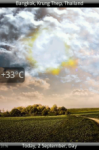 Animated Weather Pro - видже