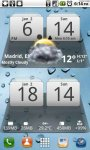 MIUI Digital Weather Clock скачать