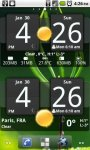 Sense Analog Clock Widget скачать