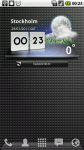 LG Optimus 2X Wether Widget - виджет погоды от LG
